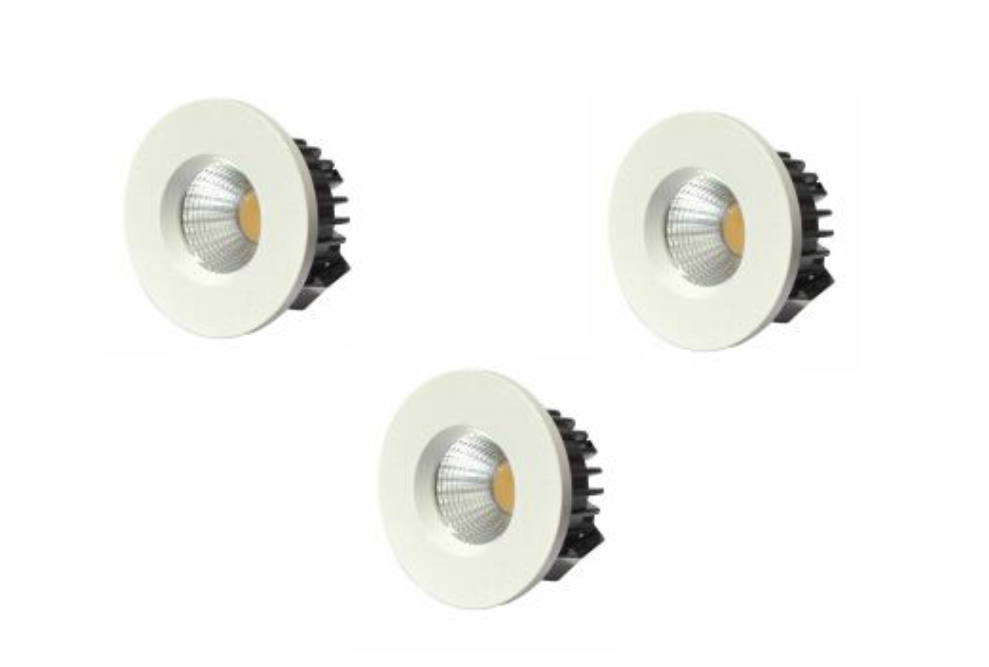 LEDware | LED inbouwspot | 3 LED spots | 210 Lm | Doe Het Zelf LED Kit | Warm Wit | D0307