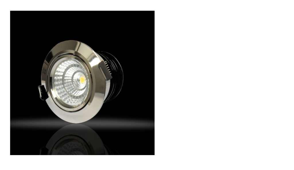 LEDware | LED inbouwspot | 4 LED spots | 380 Lm | Doe Het Zelf LED Kit | Warm Wit | Chroom