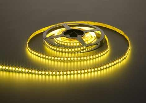 High Output Ribbon LED strip | 24 Volt | 96 Watt | 1200 LEDs | 10 Meter | Warm wit