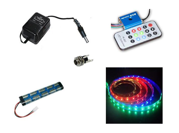 LED Stripset Accu LED Verlichting en energie zuinige verlichting van ...