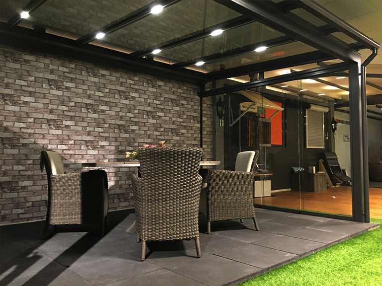 Veranda LED Verlichting en energie zuinige verlichting van LEDw@re ...