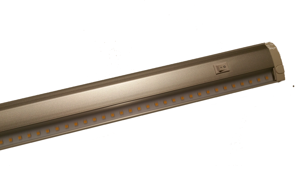 LED TL | Plat | Type HORIZON | 120 Cm | Warm Wit | 20 Watt | 220 Volt