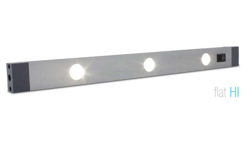LED Strip | Plat | Type FLAT HI | 30,5 Cm | Warm Wit | 3 Watt | 24 Volt