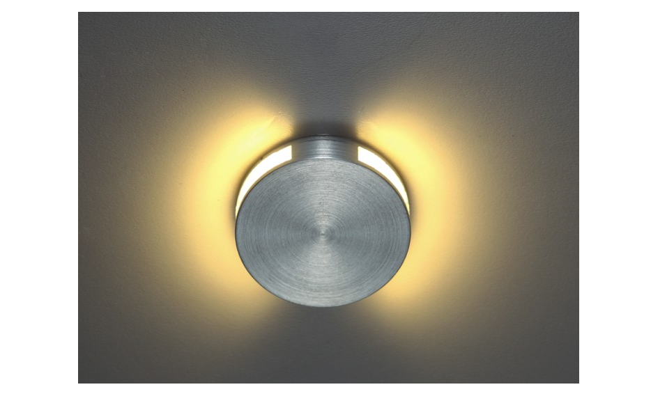 LEDw@re | LED wandarmatuur | 1 LEDs | Rond | Warm Wit | LEDw@re Wall | 04