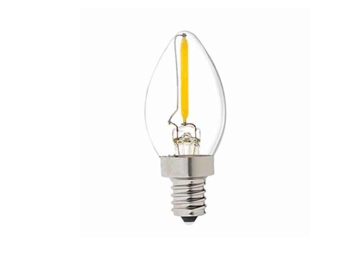 LED Minikaars | 230 Volt | 1 Watt | VV 10 Watt | Warm Wit | E14