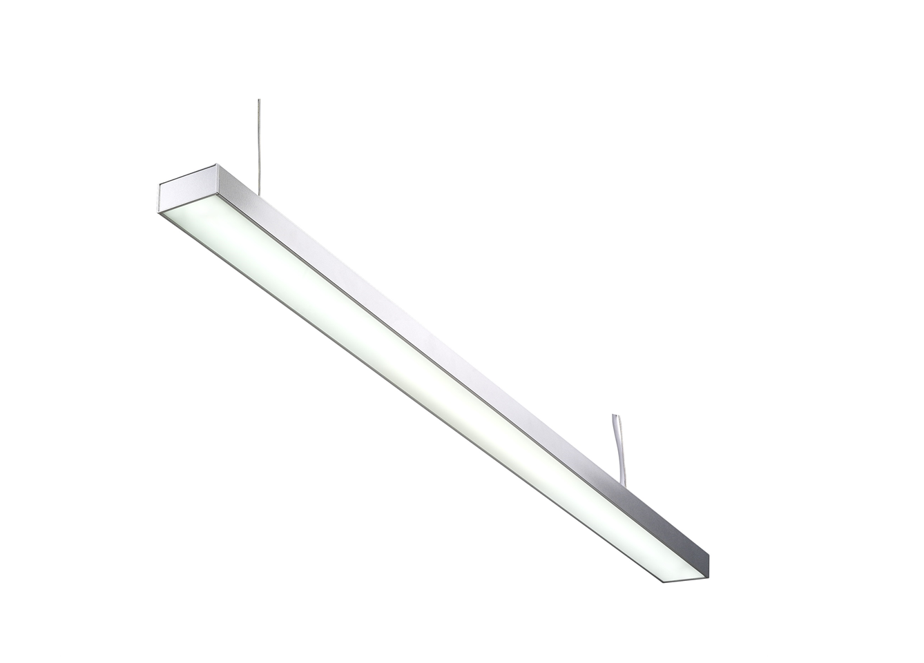 LED TL | Hang | Type LINEAR | 150 Cm | Warm Wit | 48 Watt | 220 Volt