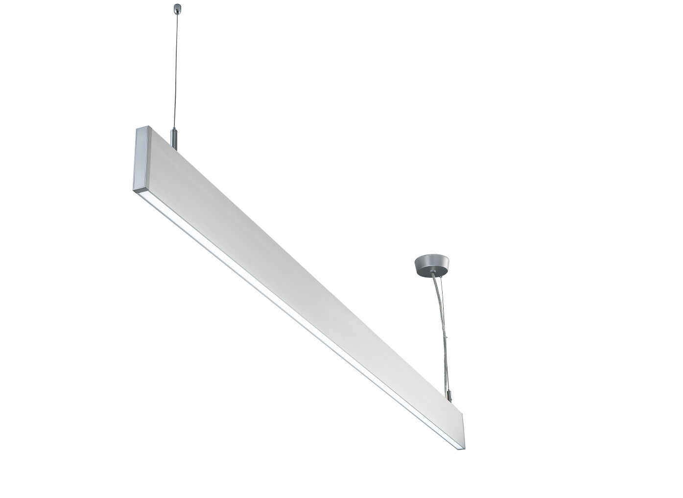LEDware | LIN048 | Alu | 1516×20×94.2mm | 40 Watt | Warm Wit