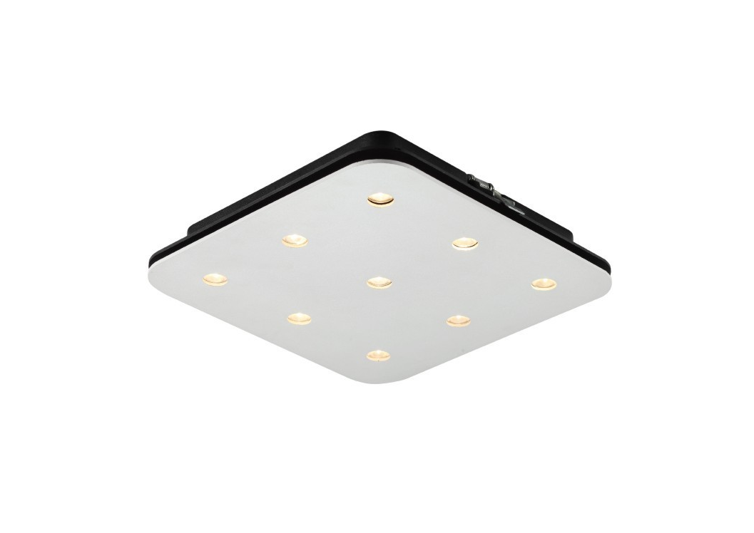 LEDware | LED opbouwspot | 9 LED Spots | 1921Lm | LED Square | Warm Wit | LWLBL083.WW