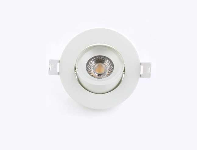 LEDware | LED inbouwspot | 1 LED spots | 500 Lm | Doe Het Zelf LED Kit | Warm Wit | Rond