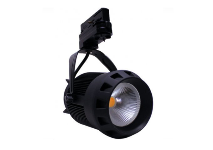 3 Fase | LED TRACKSPOT 30 Watt Black- 3000k