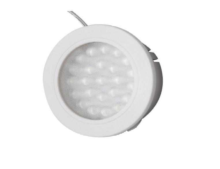LEDw@re | Closet | Click | LED Kastverlichting | 1 Lampje | 1,8 Watt | 24 Volt | Warm Wit