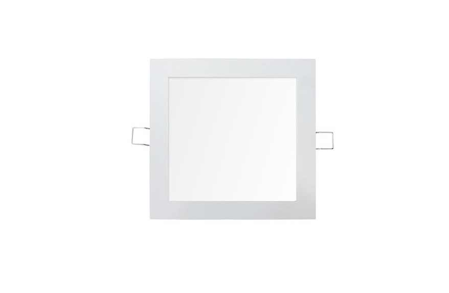 LEDware | LED Downlight Quare | 220 Volt | 12 Watt | 800 Lumen | Warm Wit | 8 Inch