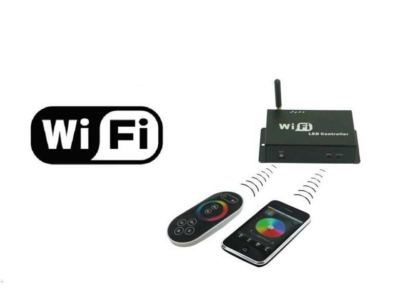 LED RGBW Wifi Controller LED Verlichting en energie zuinige ...
