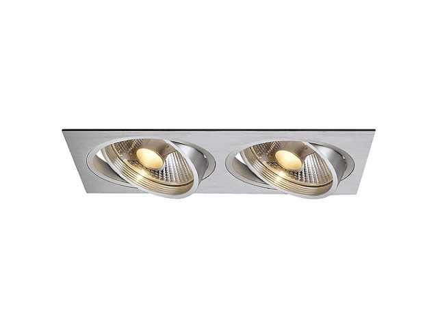 Dubbele LED Downlight | 220 Volt | 2 x 10 Watt | Warm Wit | 2 x VB52346 Verbatim | Dim