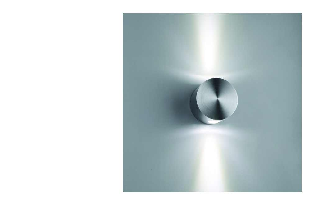 LEDw@re Wandlamp | 2 Watt | 80 x  58mm  | 150 Lumen | Wall  005