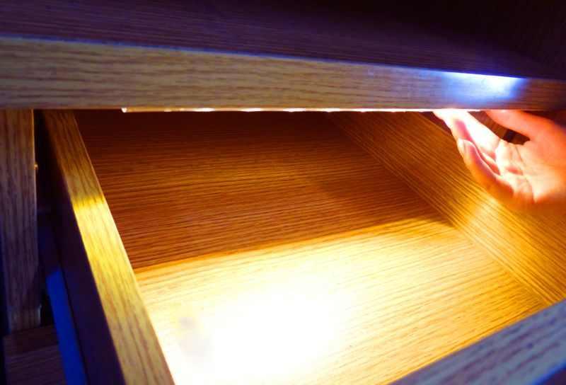 Led Verlichting Kast : Caravan ledw re lighting led lade kast lampje met