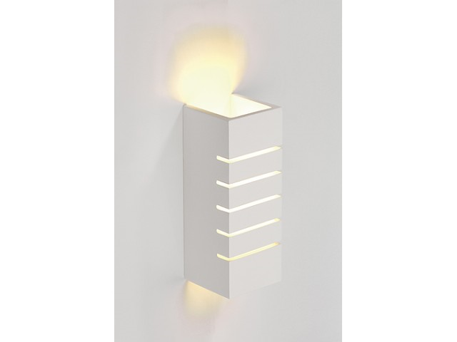LED Wandlamp | GL 100 Gips | 1 x 3 Watt | Warm Wit