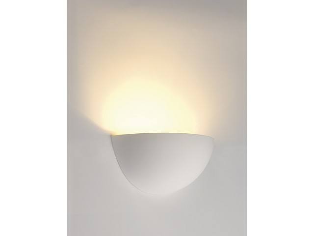 LED Wandlamp | GL 101 Gips | 1 x 3 Watt | Warm Wit