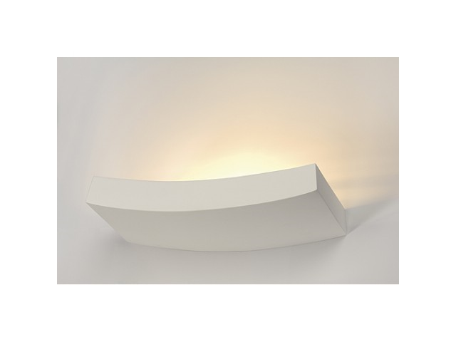 LED Wandlamp | GL 102 Gips | 1 x 10 Watt | Warm Wit