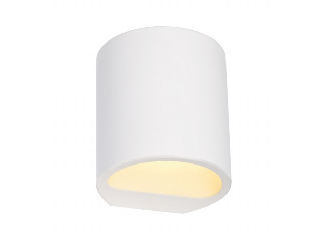 LED Wandlamp | GL 104 Gips | 1 x 3 Watt | Warm Wit