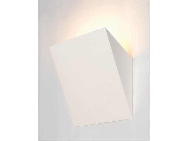 LED Wandlamp | GL 105 Gips | 1 x 3 Watt | Warm Wit