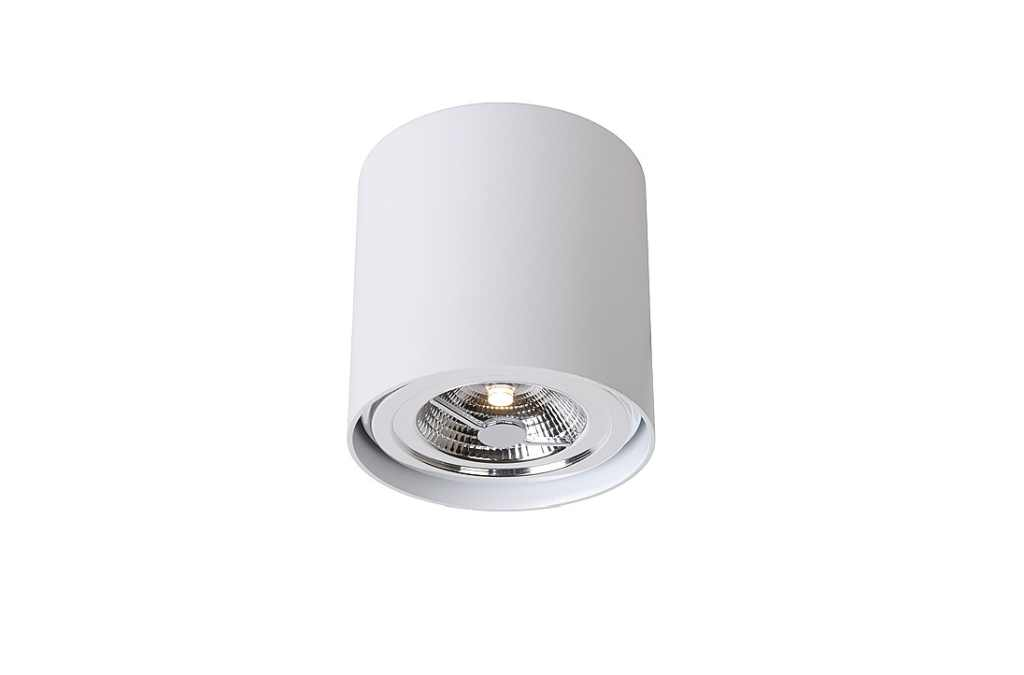 Lucide Plafondspot | 1 x 11 Watt | 120 x 120  mm | Dialo LED | Wit