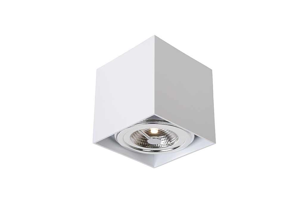 Lucide Plafondspot | 1 x 11 Watt | 120 x 120 x 120 mm | Dialo LED | Wit
