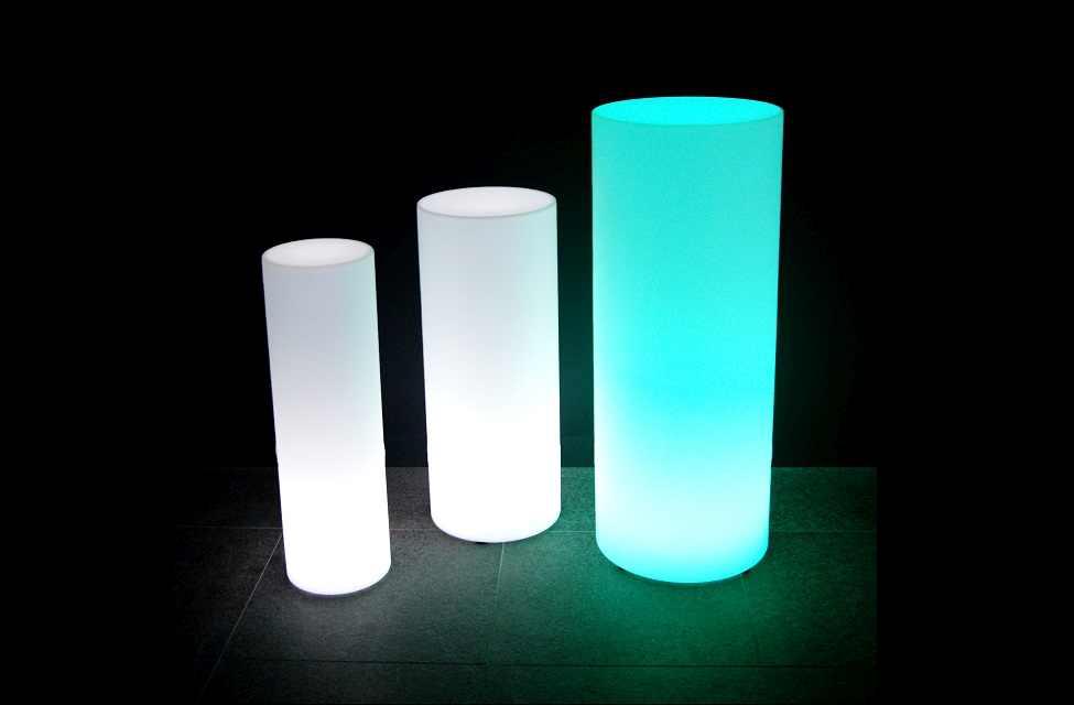 Verlichte bloempotten / Verlichte Meubels SomeLED LED Verlichte ...