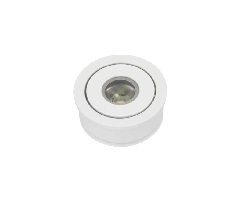 LED Spot Wit | 700mA | 2.5 Watt | VV 15 Watt | Warm Wit | Lumoluce Luzern | Wit