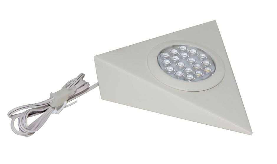 LEDware | LED driehoek | 2 LED spots | Doe Zelf LED Kit | Warm Wit