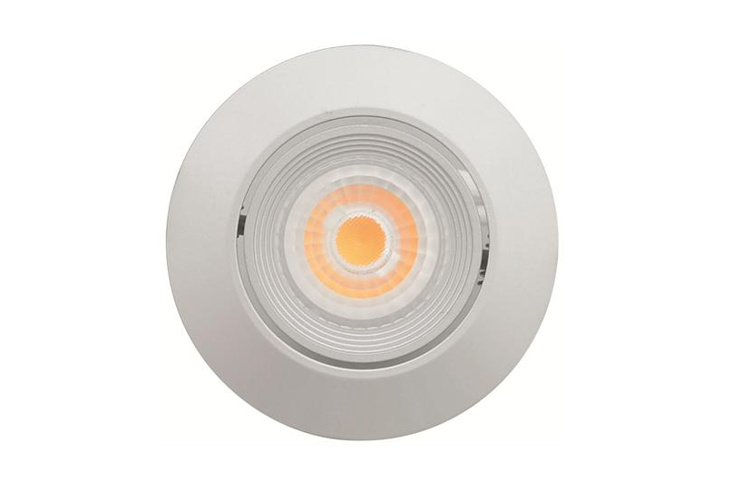 Malmbergs | LED inbouwspot | 1 LEDs | Rond | 6 W | Warm Wit (2700k) | Zilver | MD-69