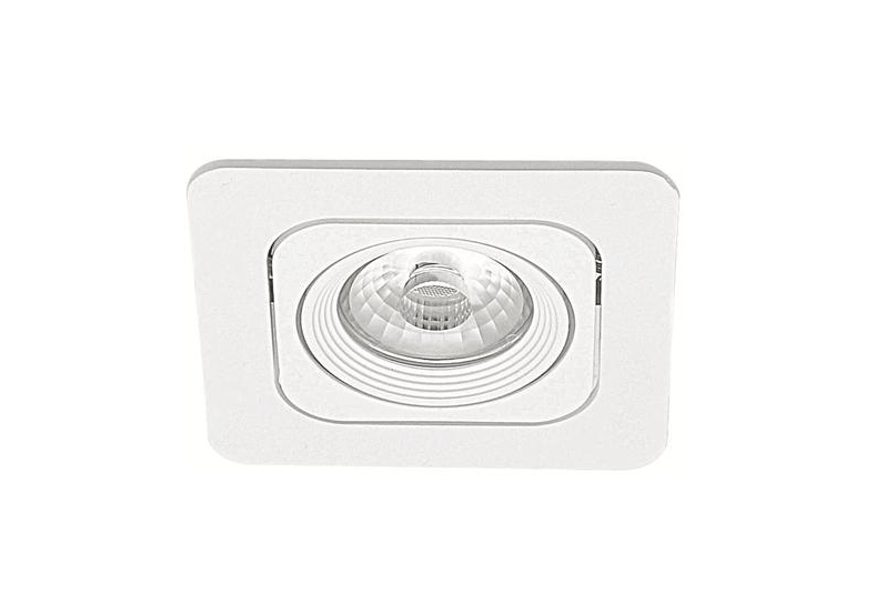 Malmbergs | LED inbouwspot | 1 LEDs | Rond | 6 W | Warm Wit (2700k) | Wit | MD-125