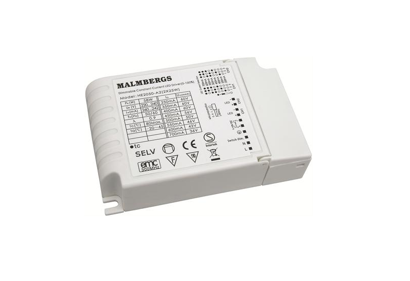 led driver 220 volt 250 1000ma 2 x 25 watt 2