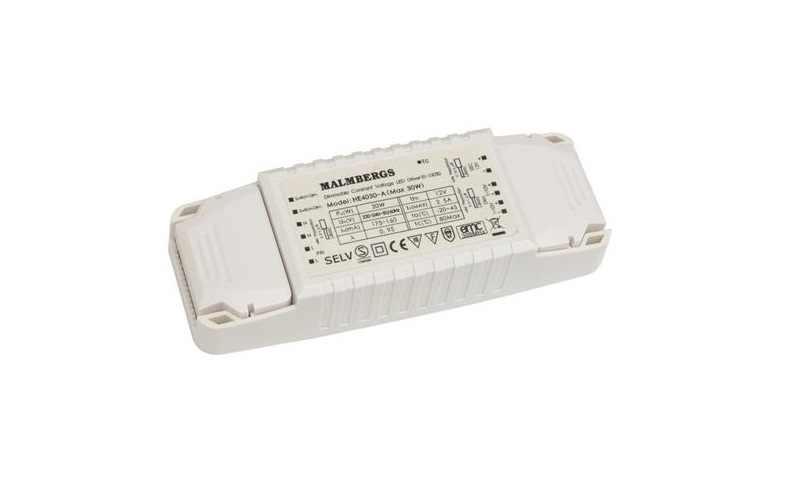 led voeding 220 volt 12 volt 30 watt 1 kanaal dimbaar