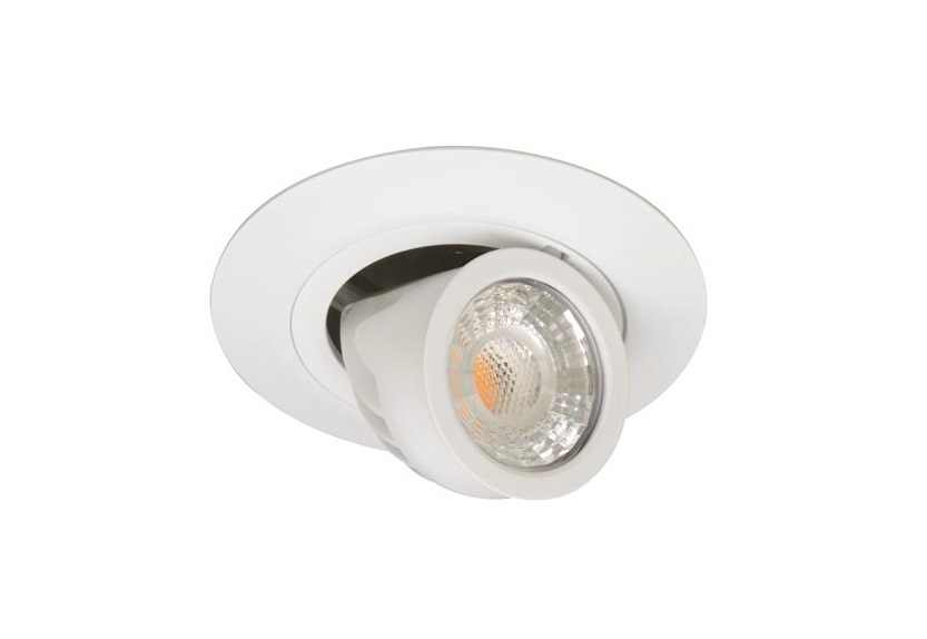 Malmbergs | LED inbouwspot | 1 LEDs | Rond | 6 W | Warm Wit (2700k) | Wit | MD-770