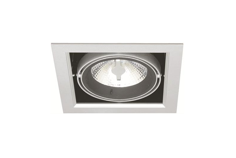 enkel led downlight 220 volt 10 watt warm wit 175 x 175