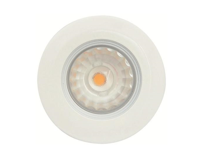 Malmbergs | LED inbouwspot | 1 LEDs | Rond | 5 W | Warm Wit (2700k) | Wit | MD-99