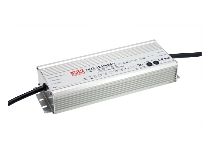 Meanwell | LED voeding | 220 Volt | 24 Volt | 240 Watt | Waterdicht IP66 | Dimbaar | 0-10