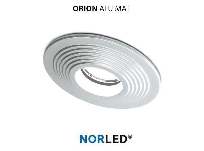 NORLED | LED inbouwspot | 1 LED | Rond | 3 W | Warm Wit | ORION MAT ALU
