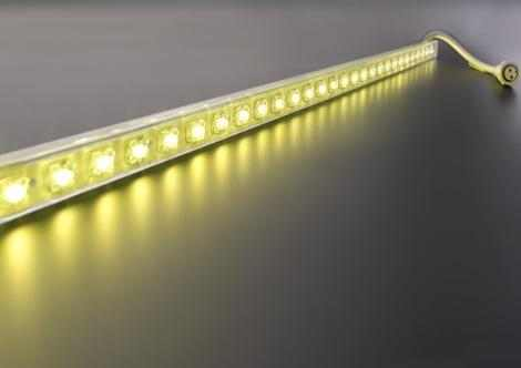 One Color LED strip | 12 Volt | 14,4 Watt | 60 LEDs | warm wit | waterdicht | 1 M