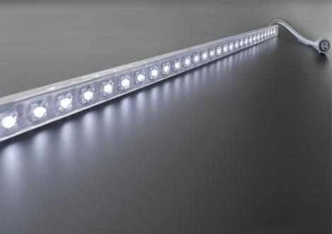 One Color LED strip | 12 Volt | 14 Watt | 60 LEDs | wit | waterdicht | 1 M