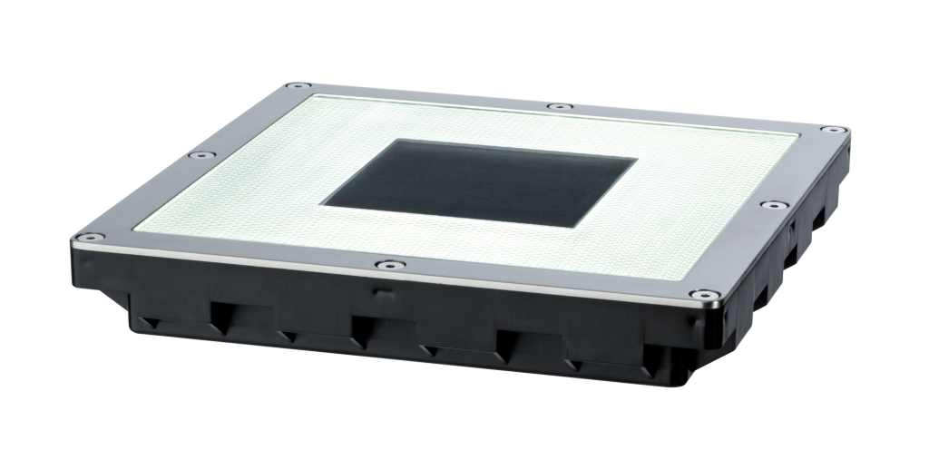 Paulmann | Solaire bodeminbouwlamp Cube IP67 LED, edelstaal, 2 x 0,6 W