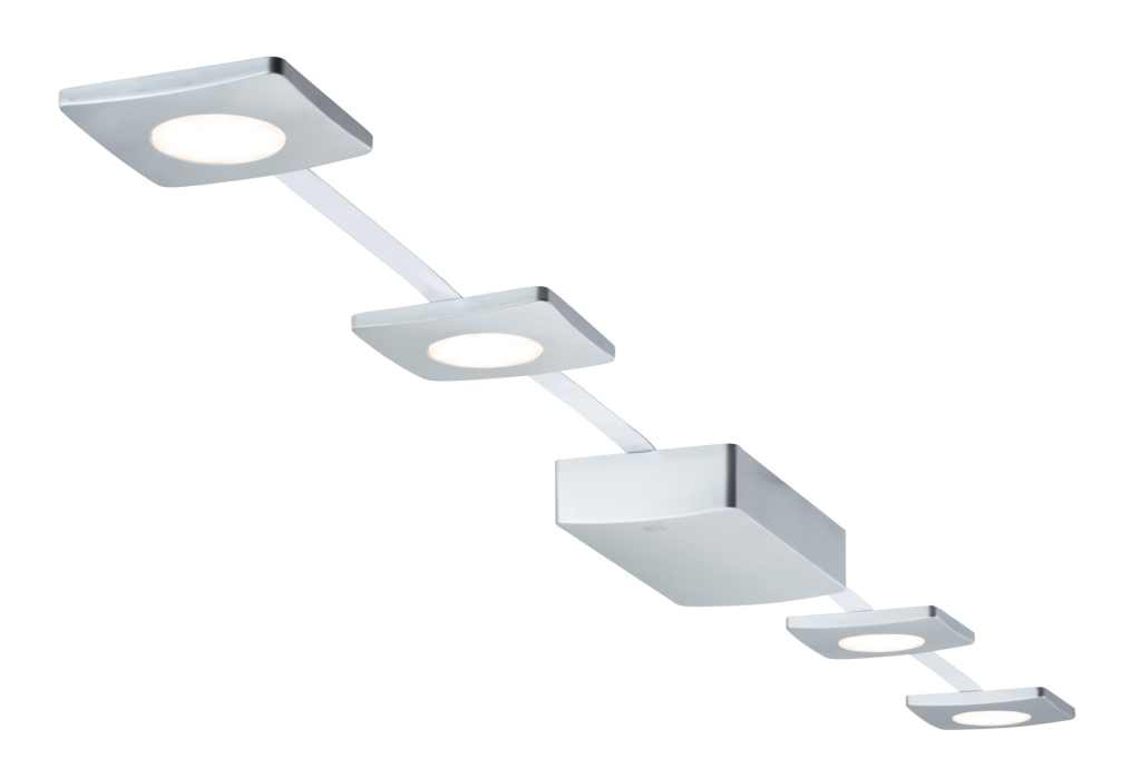 Paulmann | LED spots set | 4 Lampjes | 4 x 2,2 Watt |  Mat Chroom