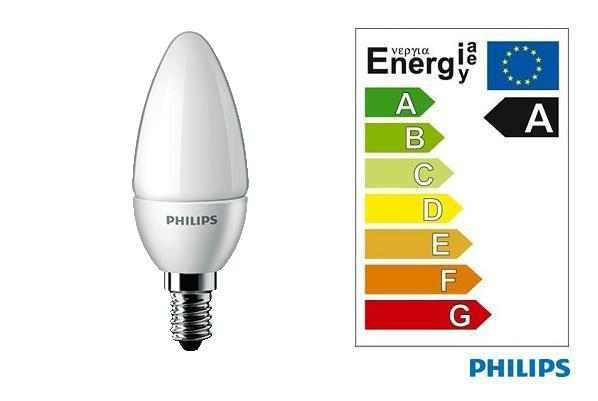 Philips | LED CANDLE | 230 V | 4 W | 25 W | 250 lm | Warm Wit | E14