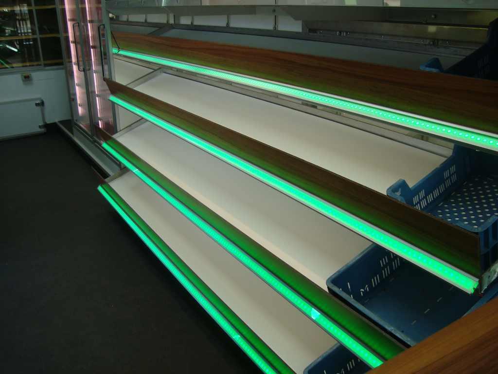 LED Profiel Hoek 34 x 26,8mm LED Verlichting en energie zuinige ...