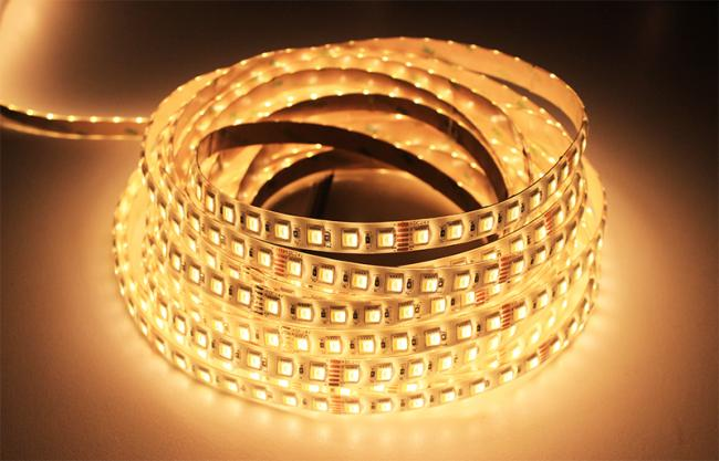LEDware SMD LEDstrip | 24 Volt | 19 Watt | 60 RGB + Warm Wit LEDs in één LED | 10 Meter
