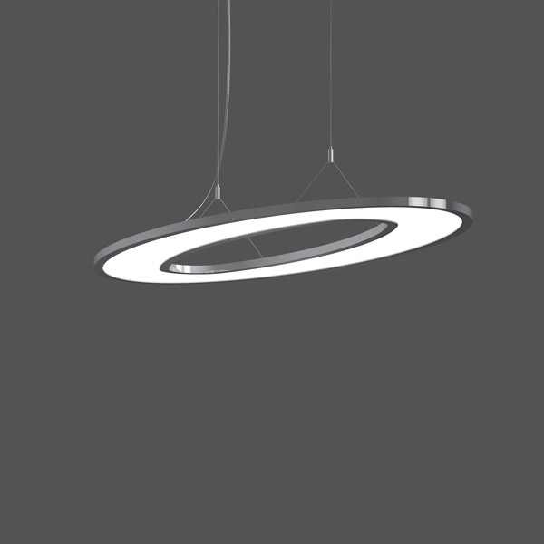 LED Hanglamp | 74 Watt | Ellypsoid | Daglicht  Wit
