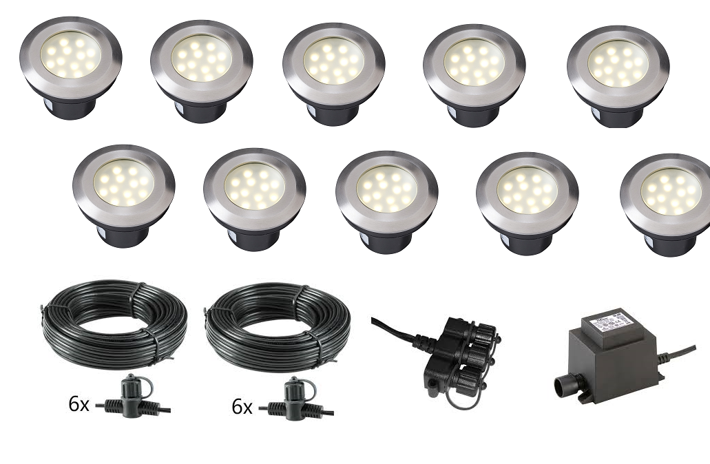 LED Grondspot 12 Volt Garden Lights LED Grondspot | 12 Volt | Wit ...