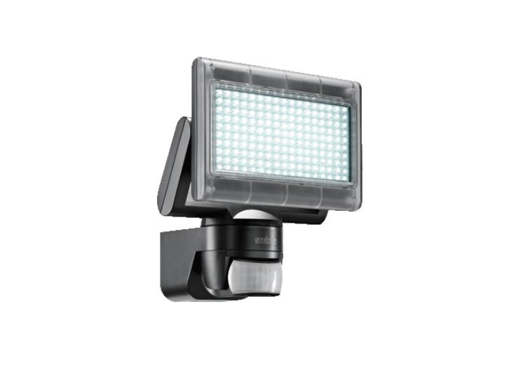 led gevellamp met sensor 230 volt 12 watt 720 lm zwart