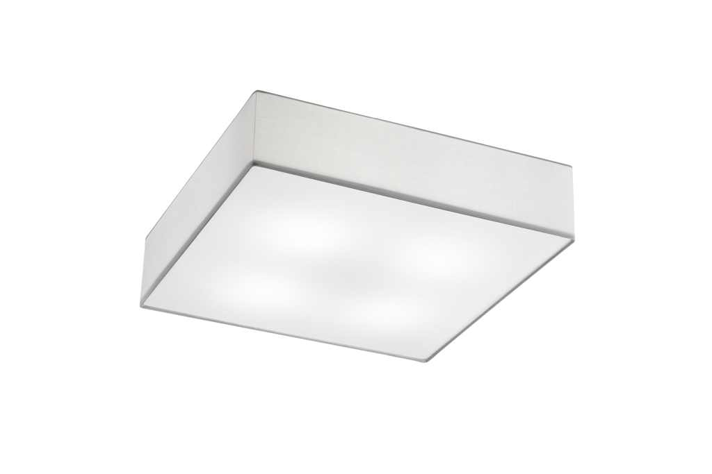TRIO Plafonniere  / wandlamp | 4 x 6 Watt | 500 x 500 mm | LED EMBASSY | Wit